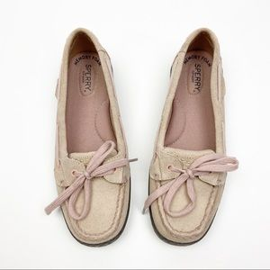 Sperry Angelfish Suede Rose Loafer